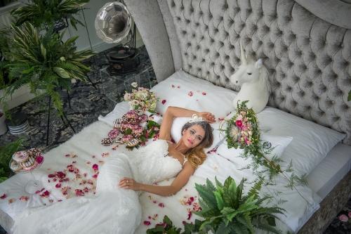 Esküvő Trend Magazin fotózás Konkoly Ágival (Miss Universe Hungary 2012)